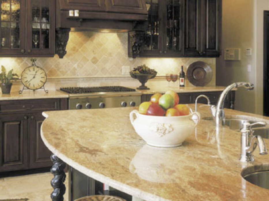 Countertop Material Choices : ... of the earth, granite is unmatched by any other countertop material